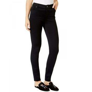 NWT INC INCFinity Stretch Skinny Jeans 4 Black